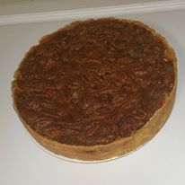 "10"" Deep Dish Bourbon Pecan Pie"